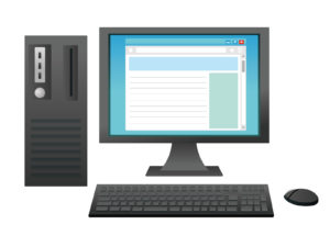 デスクトップパソコン 画像