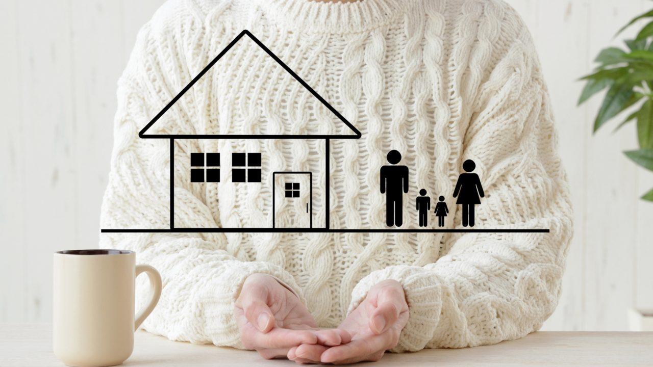 家庭を守る 画像